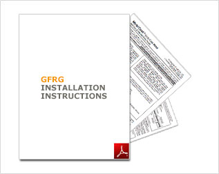 GFRG/Woodgrane™ Installation Instructions PDF