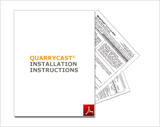 QuarryCast Installation Instructions PDF